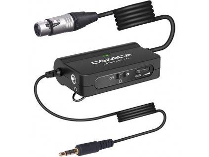 Comica Audio LinkFlex AD1 XLR - 3,5mm TRRS předzesilovač