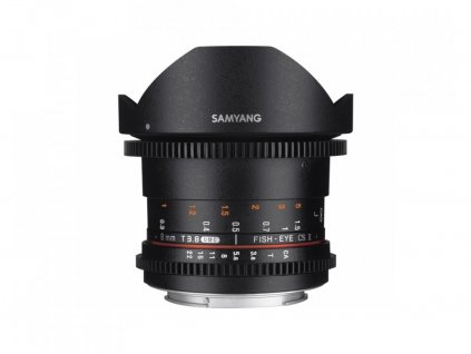 SAMYANG 8mm T/3,8 VDSLR UMC Fish-Eye CS II