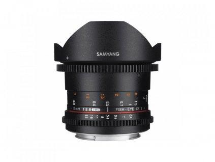 SAMYANG 8mm T/3,8 VDSLR UMC Fish-Eye CS II