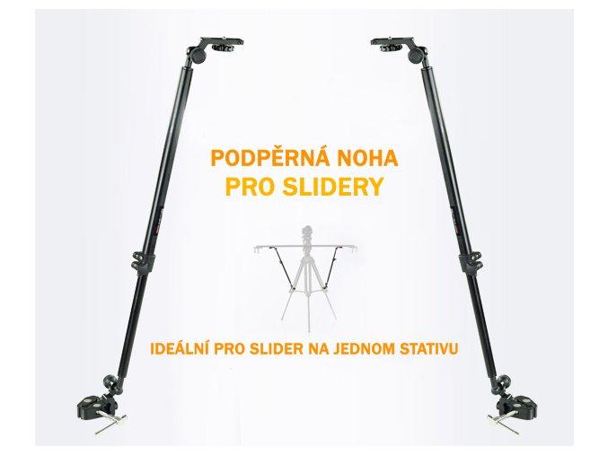 Podpěrná noha pro slider