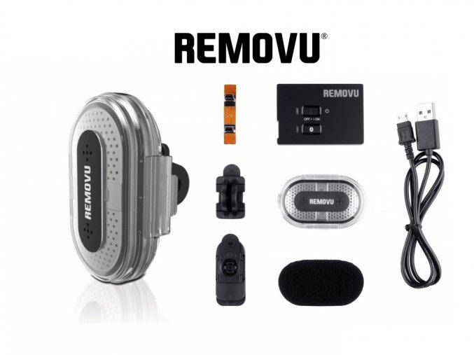 Bezdrátový bluetooth mikrofon REMOVU M1/A1 pro GoPro HERO 4/3+/3