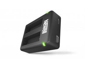 Nabíječka baterií Dual USB Mini Charger pro GOPRO Hero4