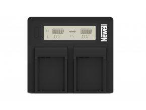 Duální LCD nabíječka pro Nikon EN-EL15