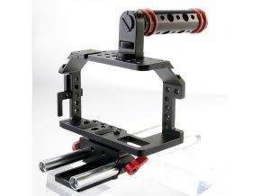 Ochranná klec, cage pro BMPCC + 15mm rod support