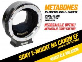 Metabones T Smart adaptér pro Mark IV Canon EF/EF-S na Sony E-Mount kamery