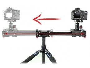 Výsuvný kamerový slider 41,5 cm