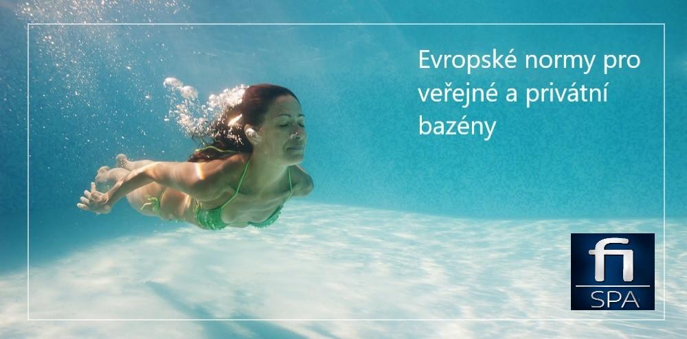 Evropské a české normy pro veřejné a soukromé bazény