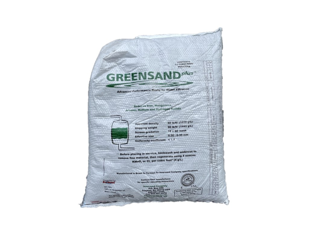 greensand plus mangan zelezo voda