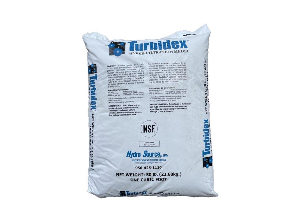turbidex zeolit filtracni napln medium