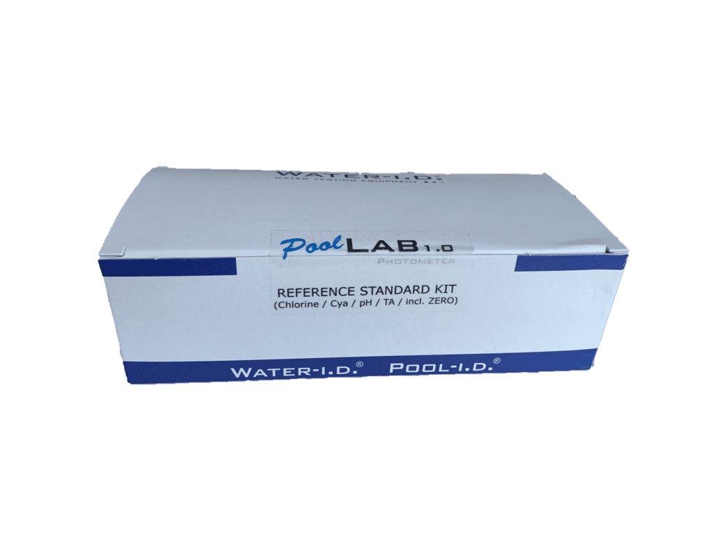 sada kalibračních vzorků pufrů pro fotometr