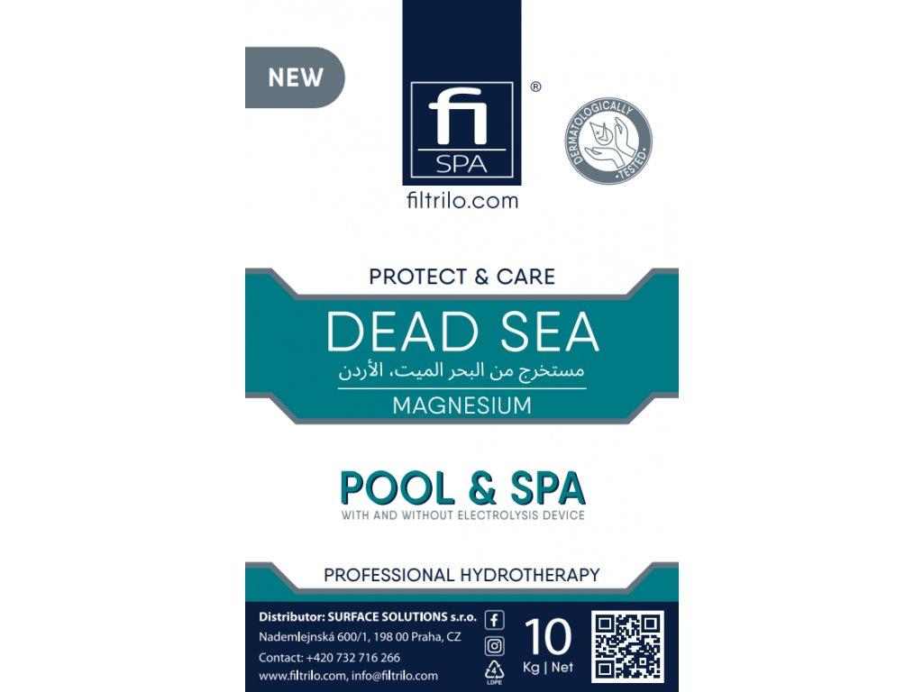 magneziova sůl  hořčík mrtve moře koupelova sul 10Kg