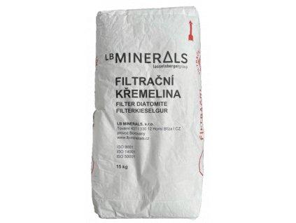 filtrační materiály křemelina D.E. filtr bazény svíčkový filtr