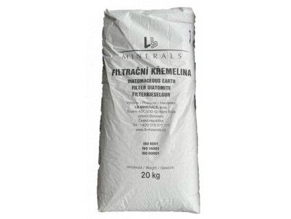 filtrační křemelina materiály D.E. filtr bazén svíčkový