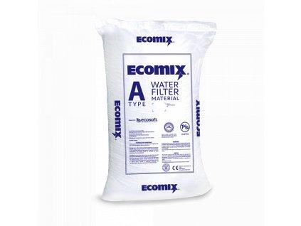 ecomix a filtrační médium pro upravu vody