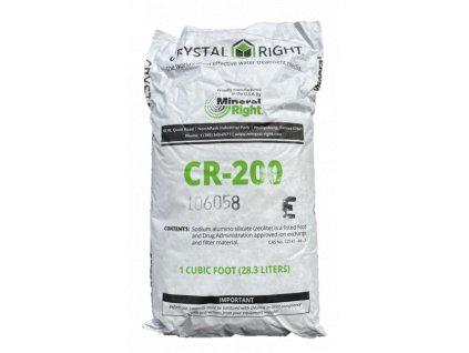crystal right 200 zeolit snizeni tvrdosti zelezo mangan