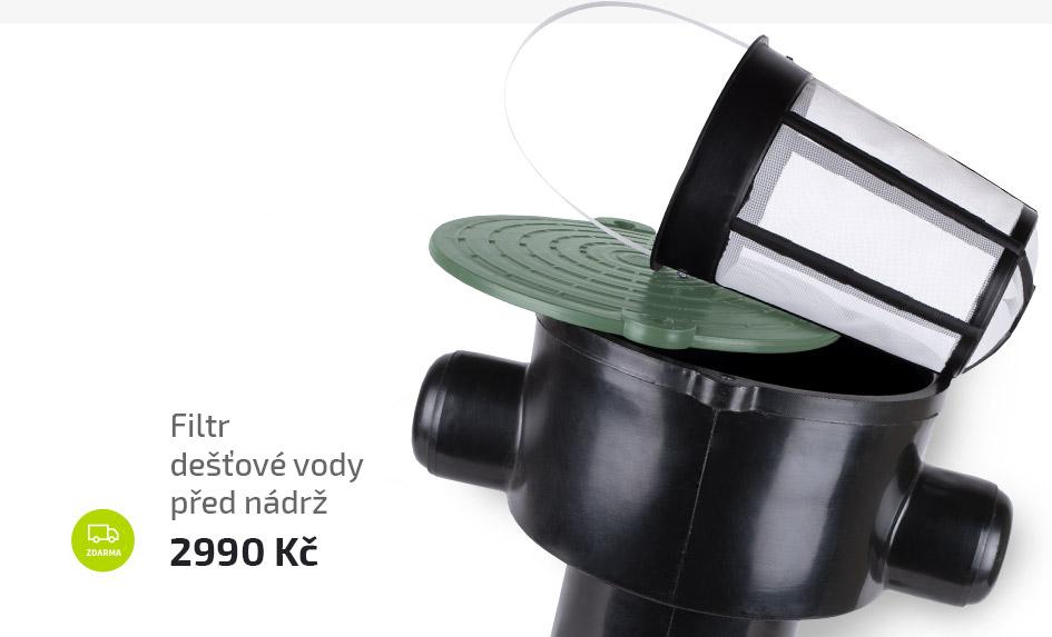Filtr dešťové vody v šachtě - vhodný k dotaci Dešťovka