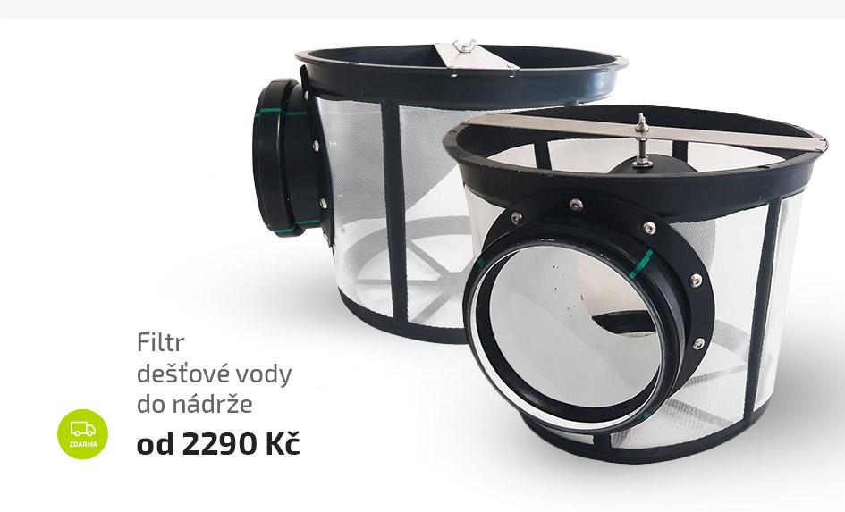 Filtrační koš Clean vhodný pro čerpání dotace Dešťovka