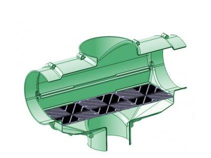 filtr dešťové vody DN160 XL