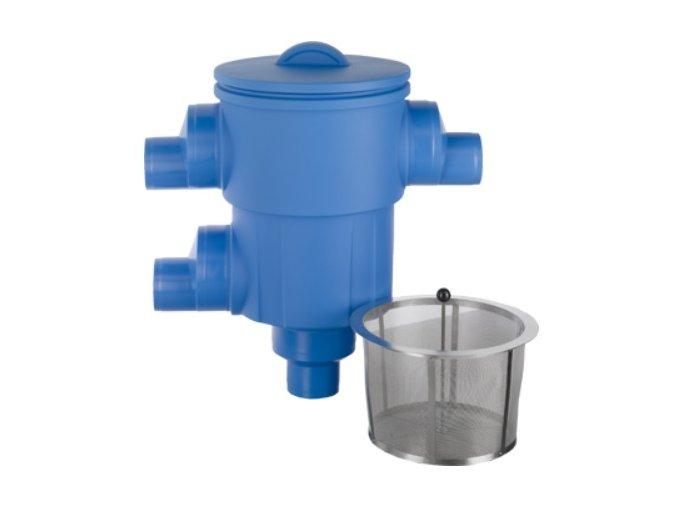 Filtr na dešťovou vodu - sběrný filtr dešťové vody pro potrubí DN125, DN160 a DN200