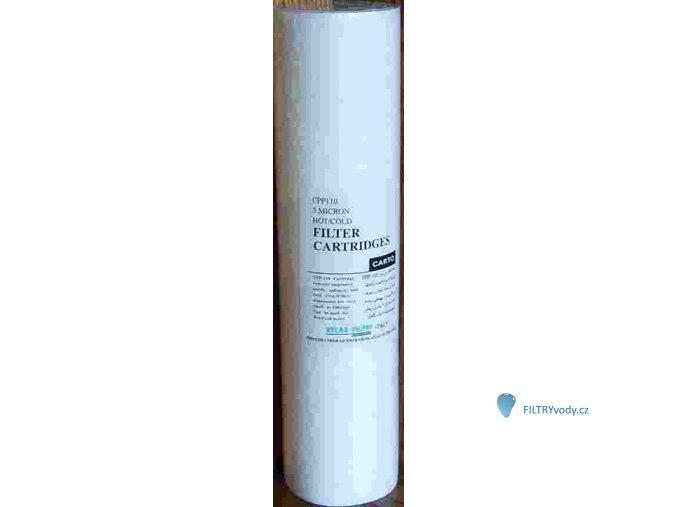 Vložka CPP5 pro filtr Atlas - zákal, železitá voda