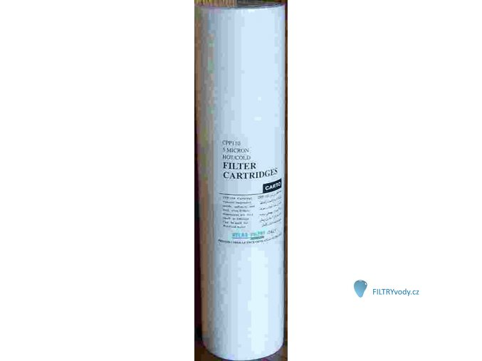 Vložka CPP25 pro filtr Atlas - zákal, železitá voda