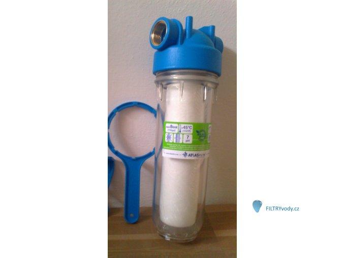 Filtr Atlas s vložkou CPP, klíčem, držákem, železitá voda