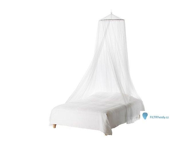 Síť proti hmyzu nad postel s obručí