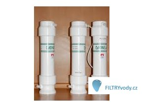 Filtrační sestava Dionela 2DUO+dez na dusičnany a bakterie, vyšší kapacita