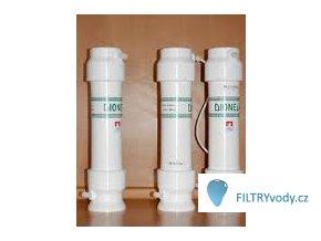 Filtrační sestava Dionela 2DUO+dez na dusičnany a bakterie ve studniční vodě, vyšší kapacita