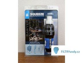 Sawyer Squeeze cestovní filtr na bakterie ve vodě