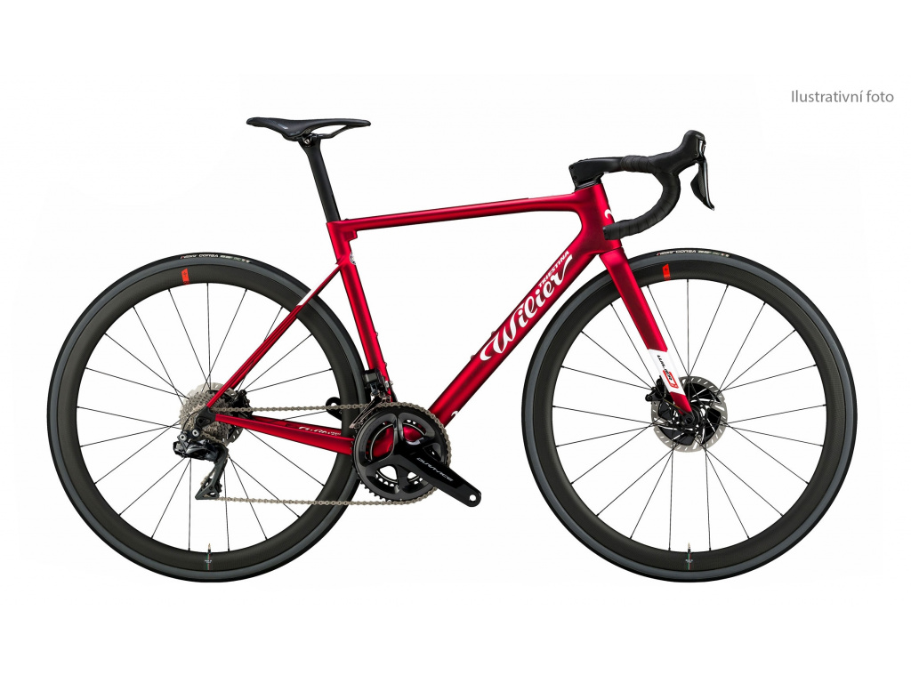 Wilier Zero SLR Disc 2021 + FORCE AXS+SLR38 red L