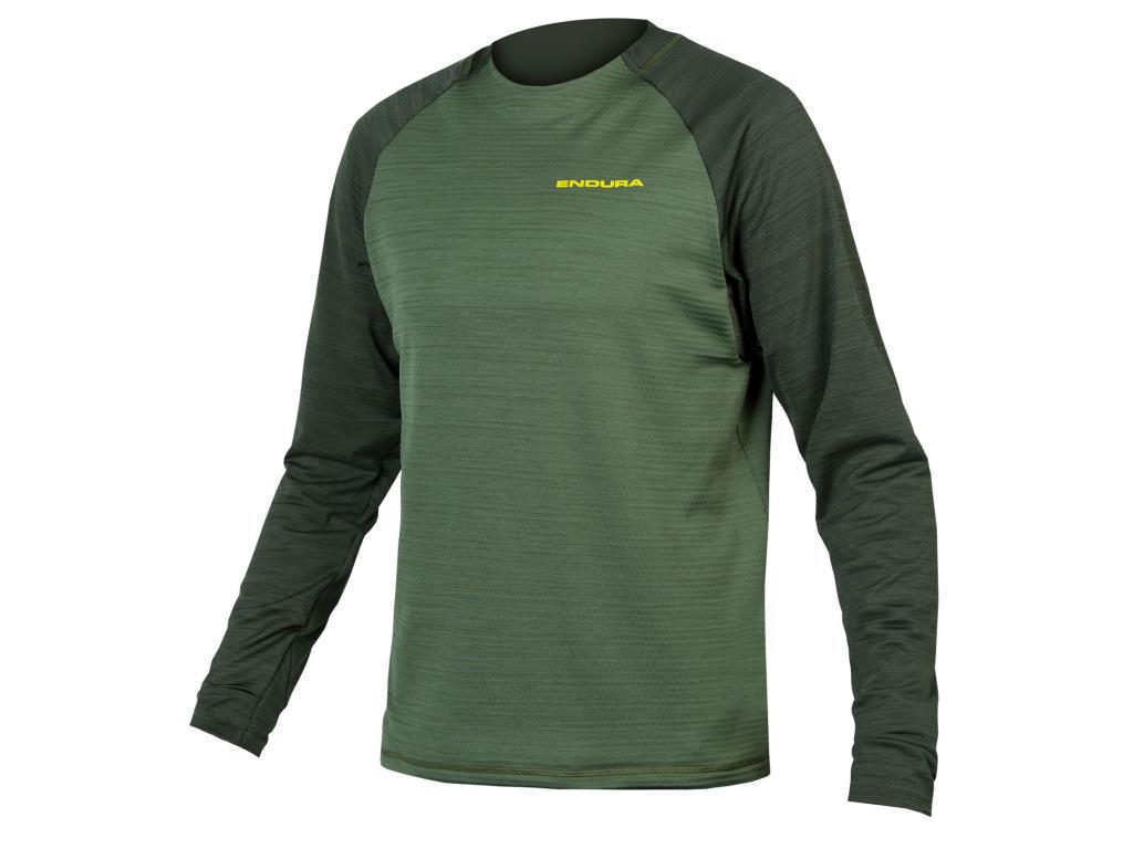 Endura Dres Singletrack Fleece, Lesní zelená