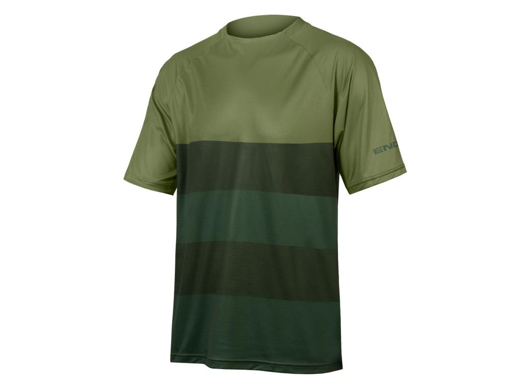 Dres Endura SingleTrack Core T, Olivově zelená