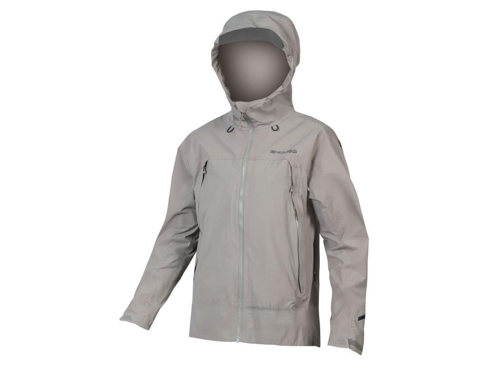 Vodě odolná bunda Endura MT500 II, Fosilně šedá