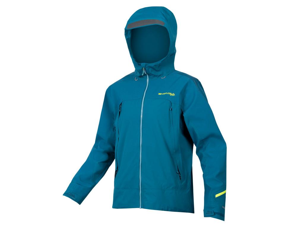 Vodě odolná bunda Endura MT500 II, Lednáčkově modrá