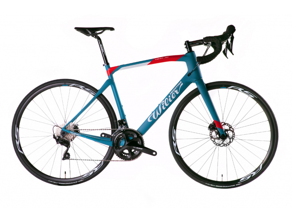 Wilier Cento1 NDR Disc 2019 - 105 Disc + RS170, Blue / Red