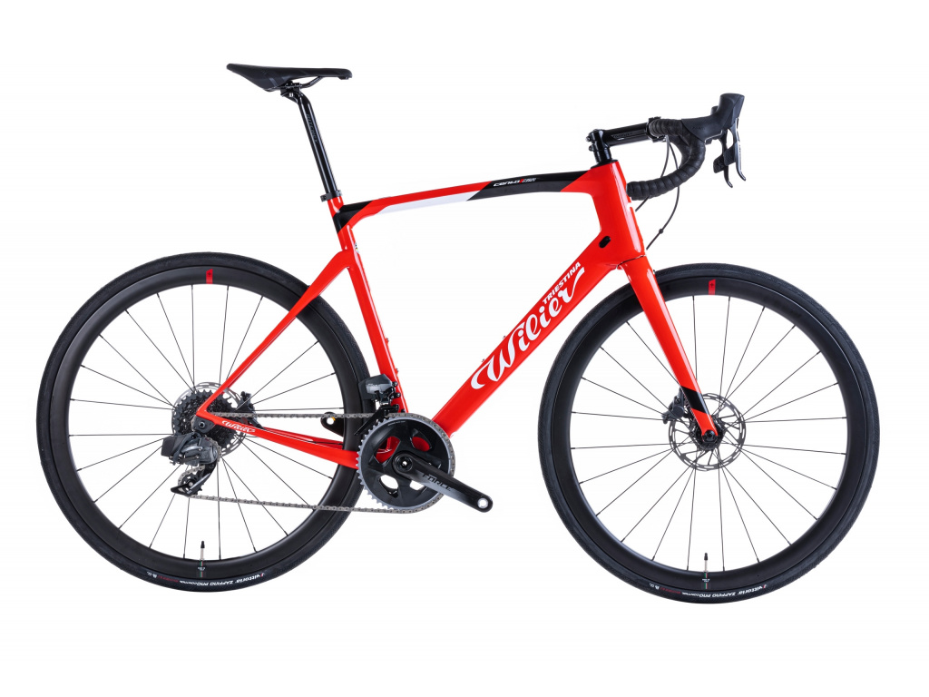 Wilier Cento1 NDR Disc 2021 - Force AXS + NDR38KC, Red