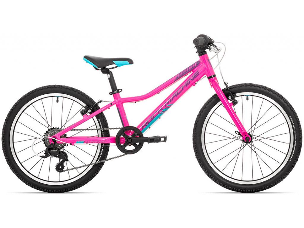 Rock Machine Catherine 20,  Gloss neon pink/Violet/Neon cyan