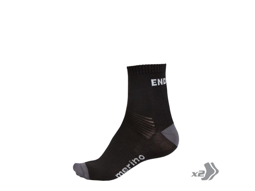 Endura BaaBaa Merino ponožky (2-balení),