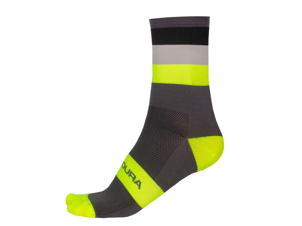 Ponožky Endura Bandwidth, Svítivě žlutá