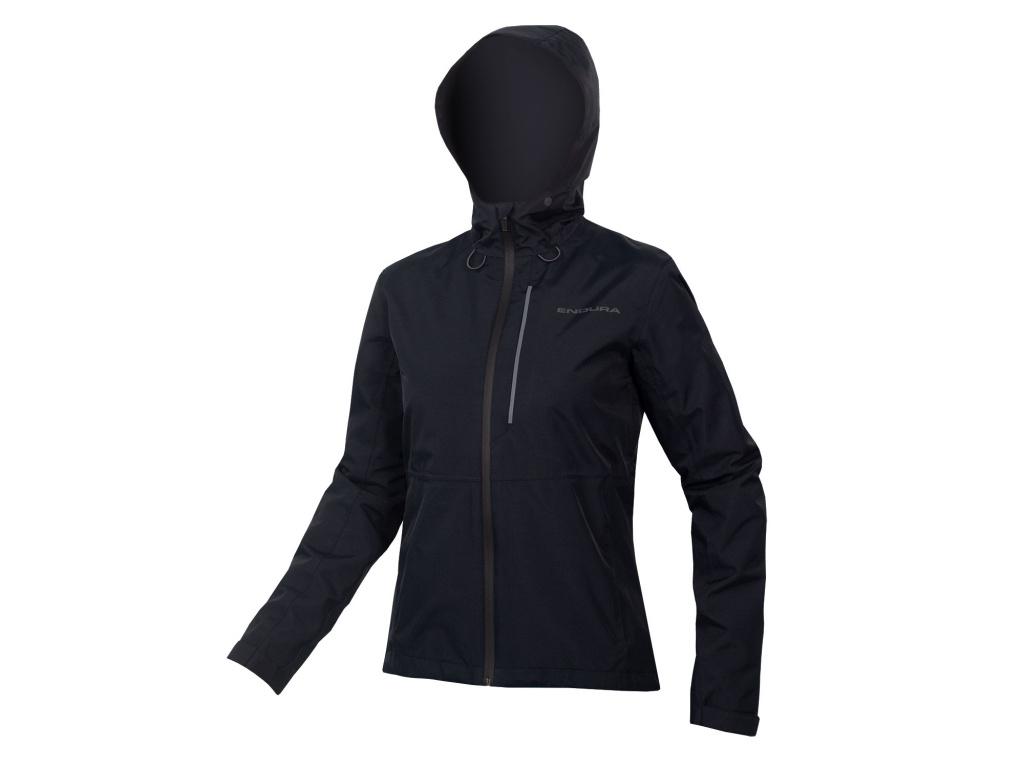 Dámská bunda Endura Hummvee s kapucí, Černá