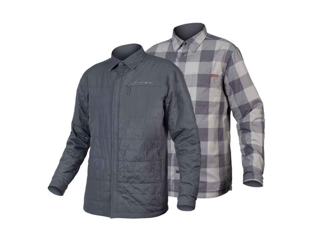 Košile Endura Hummvee Shacket II, Fosilně šedá