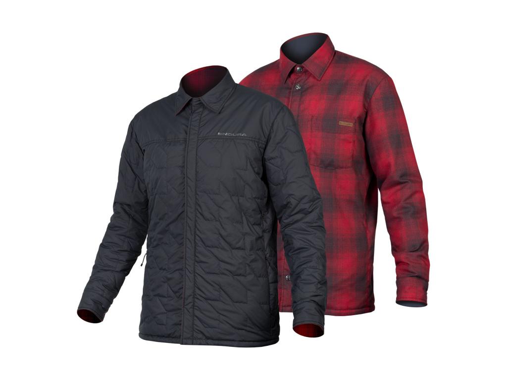 Košile Endura Hummvee Shacket II, Rezavě červená