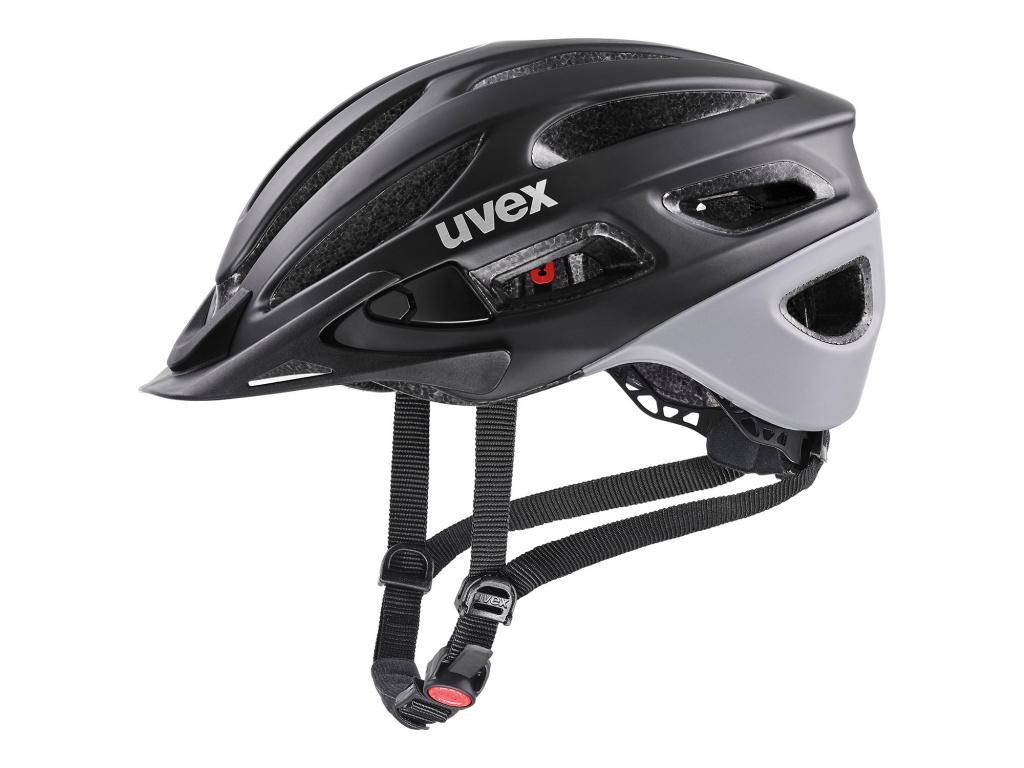 Helma Uvex True CC, Black / Grey Matt