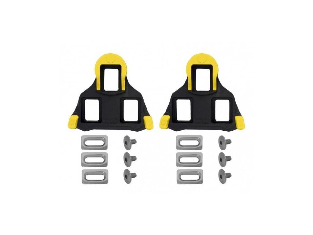 Kufry k silničním pedálům Shimano SPD-SL SM-SH11, Žluté