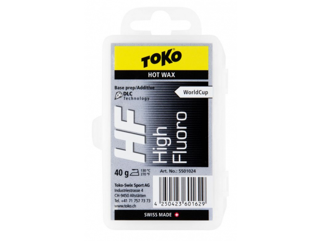 Vosk Toko HF Hot Wax Black 40g