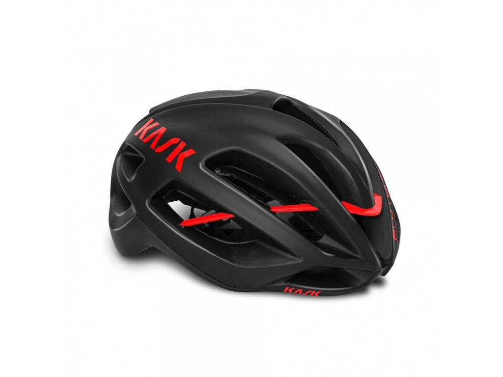 Helma KASK Protone, Black Matt / Red