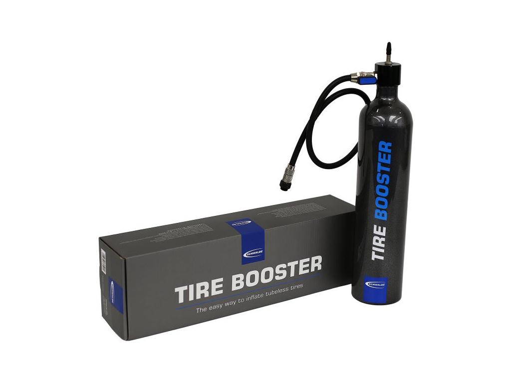 Zásobník SCHWALBE Tire Booster na tlakování plášťů