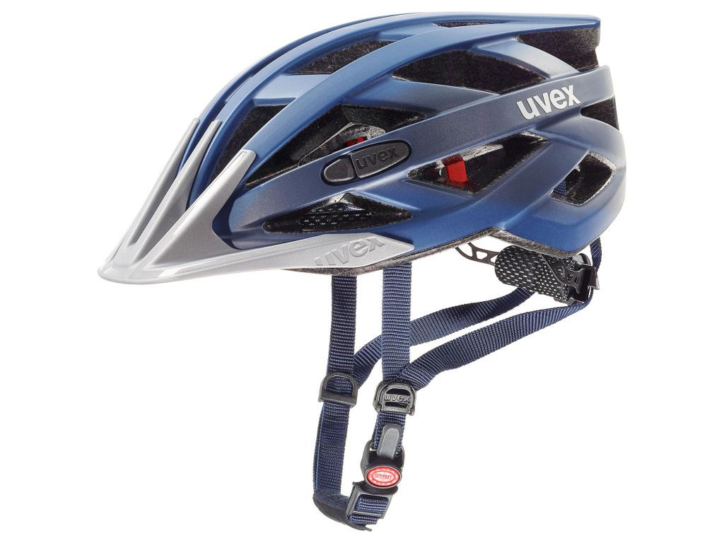 Helma Uvex I-VO CC, Dark Blue / Mettalic Matt