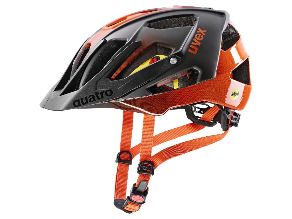 Helma Uvex Quatro CC MIPS, Titan Orange